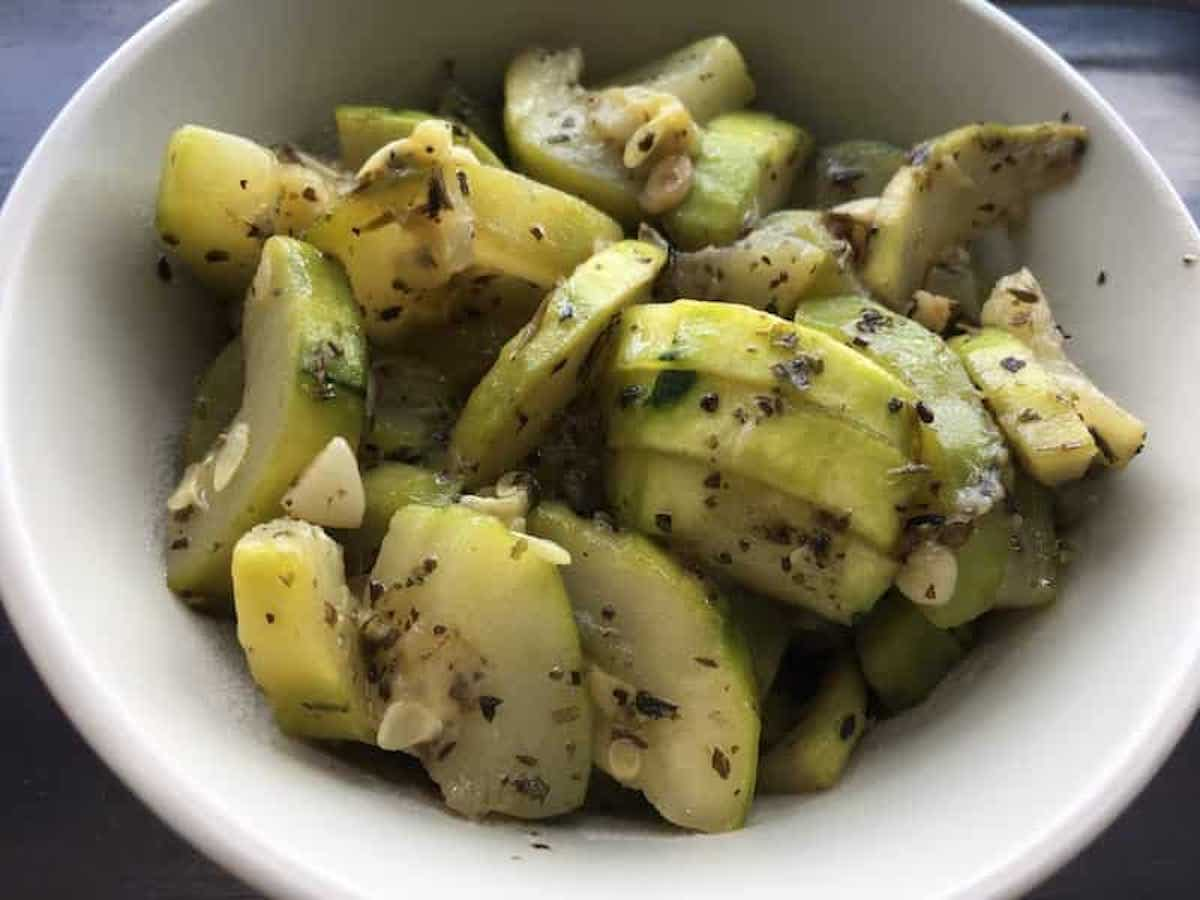 Zucchini stir-fry with Herbs de Provence | Diabetic Recipes