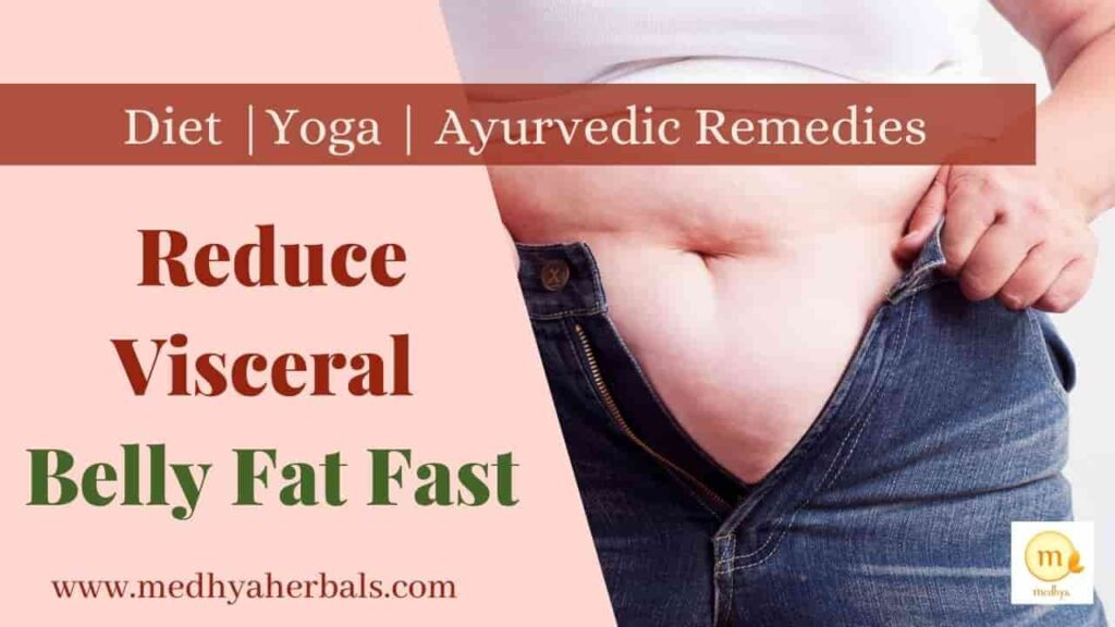 Reduce Visceral Belly Fat with Ayurveda Diet Yoga-min