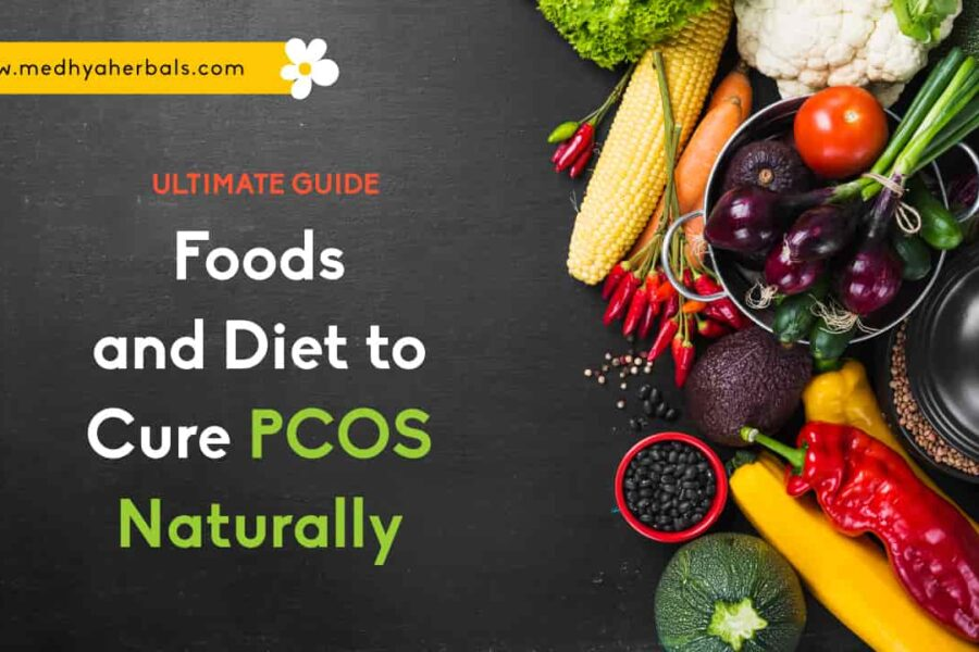 PCOS Diet Chart   7 Days (Free) PCOS Meal Plan    Best and Worst Foods