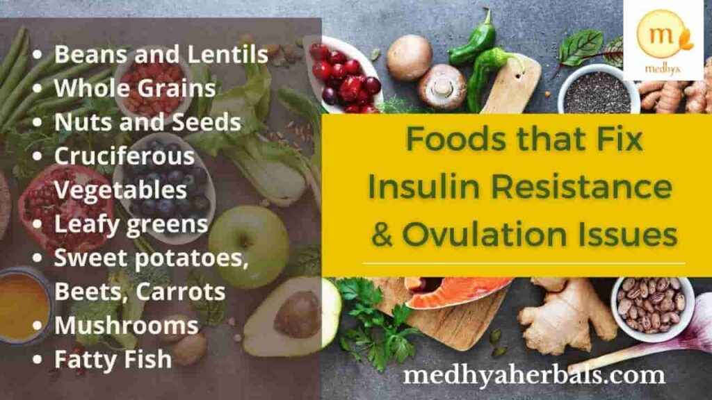 Food for Ovulation and Weight loss-min
