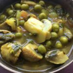 Button Mushrooms and Green Peas Soup-min