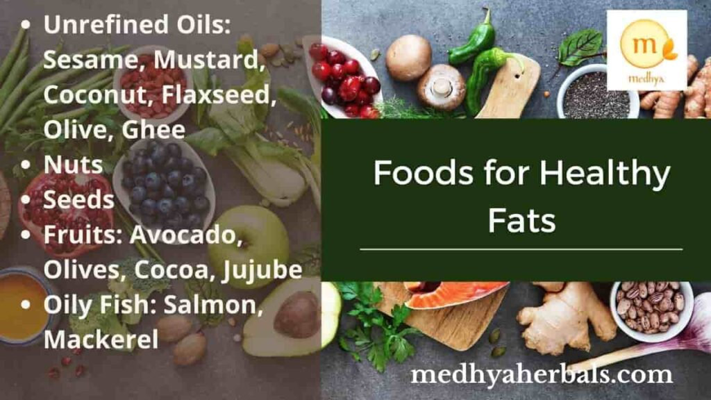 Foods that provide healthy fats-min
