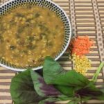 Red Amaranth and Lentils Soup-min