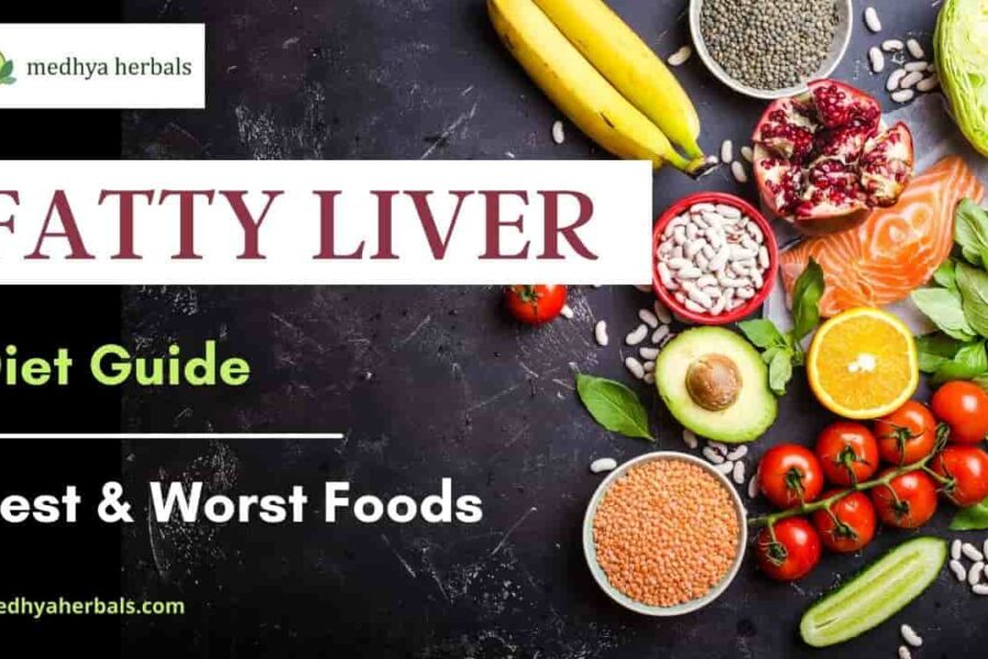 7 Day Fatty Liver Diet Plan (Vegetarian) | Best Foods for Deep Cleanse