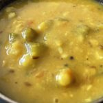 Bottle Gourd and Pigeon Peas Soup